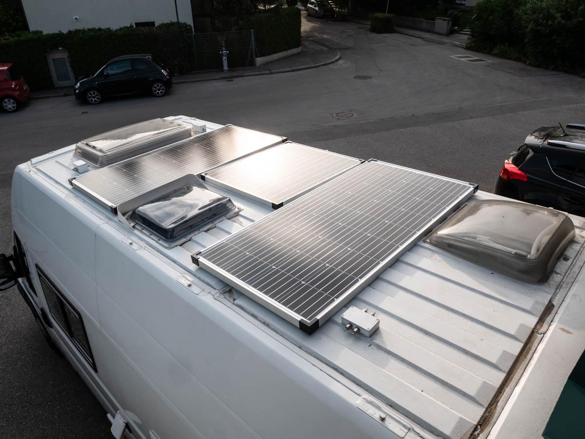 wohnmobil isolierung die zweite und die solar anlage ist. Black Bedroom Furniture Sets. Home Design Ideas